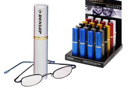 Dunlop Unisex Γυαλιά Πρεσβυωπίας Διαβάσματος σε Άσπρη Θήκη