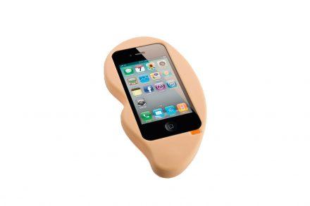 Θήκη Κινητού Σιλικόνης Smartphone iPhone 4/4S σε Σχήμα Αυτιού