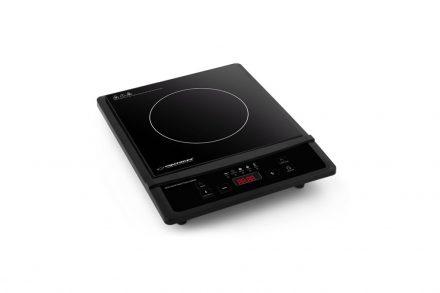 Esperanza Μονή Επαγωγική Εστία Induction Plate Kratatau 2000W με 4 λειτουργίες μαγειρέματος σε Μαύρο χρώμα