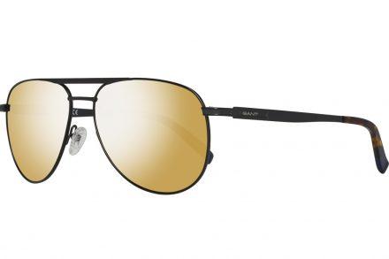 Gant Ανδρικά Γυαλιά Ηλίου με Μαύρο Μεταλλικό σκελετό
