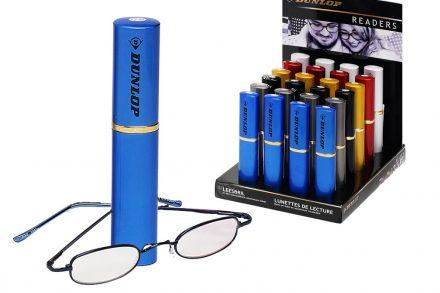 Dunlop Unisex Γυαλιά Πρεσβυωπίας Διαβάσματος σε Μπλε Θήκη