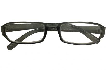 Fashion Zone Unisex Γυαλιά Πρεσβυωπίας Διαβάσματος με Λεπτό Διάφανο Γκρι σκελετό και βαθμό +2.00