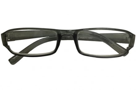 Fashion Zone Unisex Γυαλιά Πρεσβυωπίας Διαβάσματος με Λεπτό Διάφανο Γκρι σκελετό και βαθμό +3.00