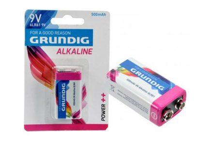 Grundig 51676 Αλκαλική Μπαταρία 500mAh 9V/6LR61 - Grundig
