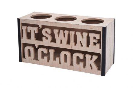 Ξύλινη Μπουκαλοθήκη Κρασιού