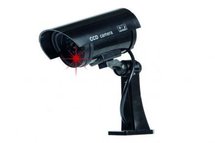 Ψεύτικη Ασύρματη Κάμερα Παρακολούθησης LED σε Μαύρο χρώμα
