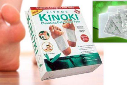 Επιθέματα Πελμάτων KIYOME KINOKI για αποτοξίνωση του οργανισμού - 50τμχ - TV