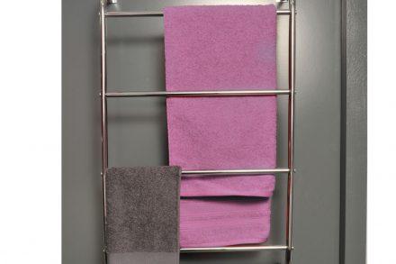 Μεταλλική κρεμάστρα Πόρτας μπάνιου για πετσέτες