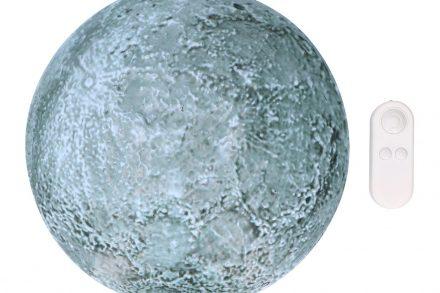 Grundig Φωτάκι Νυκτός σε σχήμα φεγγάρι με τηλεχειριστήριο