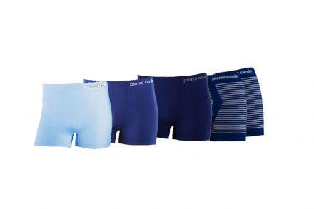 Pierre Cardin 076647 Σετ 5 boxers Ανδρικά Πακέτο 5 τμχ. Boxer 5-pack που αποτελείται από 2 Μπλε Navy με λευκές ρίγες