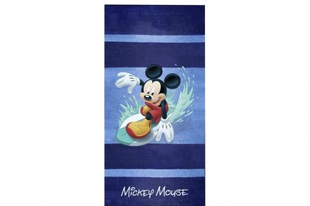 Disney Παιδική Βαμβακερή Πετσέτα Θαλάσσης με σχέδιο Mickey σε Μπλε χρώμα