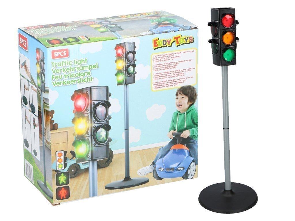 Εκπαιδευτικό παιχνίδι Φανάρια Οδικής Κυκλοφορίας ύψους 75 εκατοστά για παιδιά άνω των 3 ετών - Eddy Toys