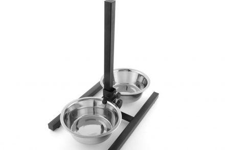 Ταΐστρα για Σκύλους φαγητού και νερού διπλής ρύθμισης