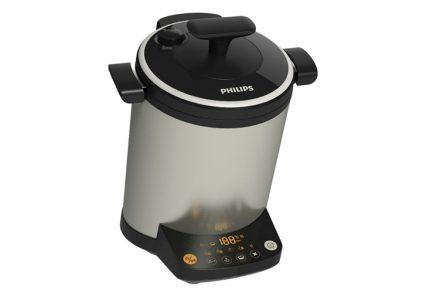 Multi Cooker Ανοξείδωτος Ηλεκτρονικός Μάγειρας 2L με 3D ζέσταμα φαγητού και 16 διαφορετικά προγράμματα προετοιμασίας φαγητού σε Ασημί Χρώμα