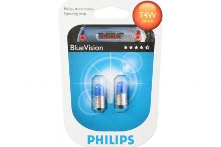 Philips BlueVision Σετ Xenon Φώτα Αυτοκινήτου Τ4W 2 τεμ.