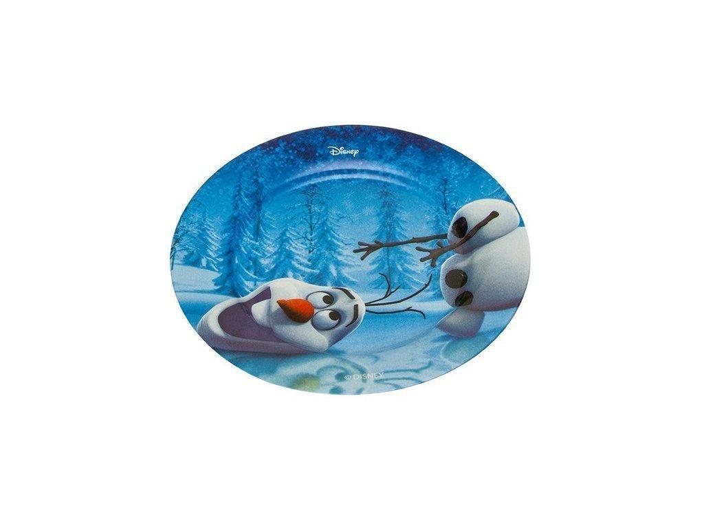 Disney Παιδικό Πιάτο 19cm από Πορσελάνη με θέμα Frozen Olaf