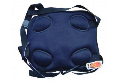 Jocca Συσκευή μασάζ πλάτης με χειριστήριο για εύκολο χειρισμό με Υποδοχή τροφοδοσίας αυτοκινήτου & 8 λειτουργίες μασάζ
