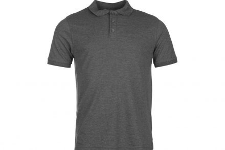 Pierre Cardin Ανδρικό Μπλουζάκι POLO T-Shirt σε Γκρι Ανθρακί χρώμα - Pierre Cardin