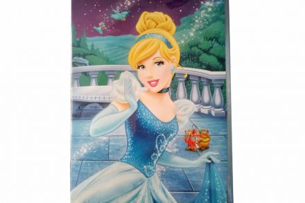 Disney Ευχετήρια Παιδική Κάρτα Γενεθλίων 23x30.5cm με θέμα Σταχτοπούτα