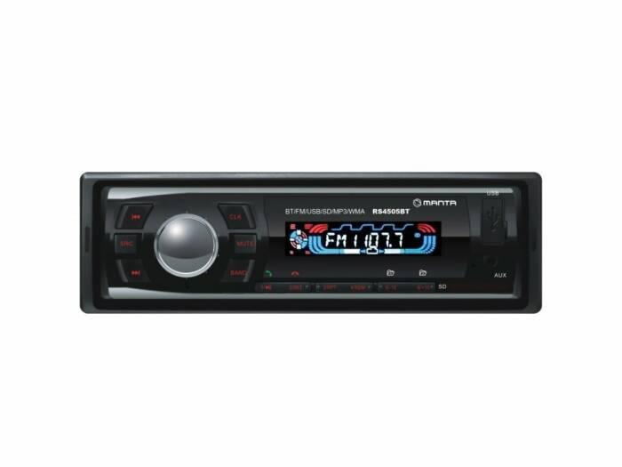 Manta Storm Ηχοσύστημα Αυτοκινήτου Bluetooth MP3 4x10W με υποδοχή USB/SD/AUX