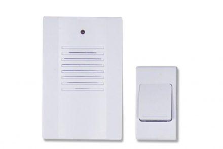 Safe Alarm Ασύρματο Κουδούνι Πόρτας με 1 πομπό και 16 διαφορετικές επιλογές μελωδίας Εύρους μετάδοσης 30m