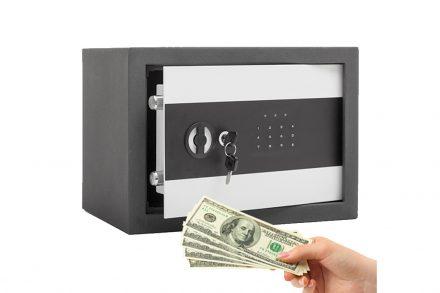 Ψηφιακό Χρηματοκιβώτιο 35x25x25cm από χάλυβα με ψηφιακό κλειδί