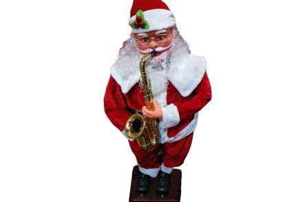 Άγιος Βασίλης Χορευτής Με Κίνηση & Μουσική ύψους 180cm - OEM
