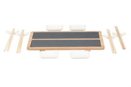 Sushi Σετ σερβιρίσματος 13 τεμαχίων με ξυλάκια