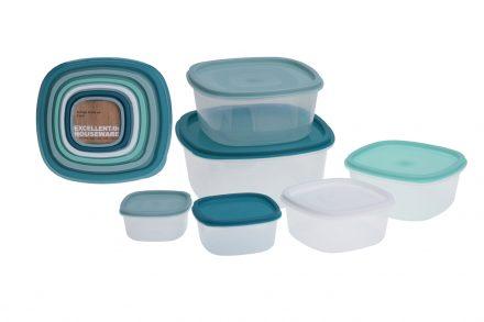 Σετ Πλαστικά Φαγητοδοχεία Μπολ 6 τεμαχίων σε διαφορετικά μεγέθη