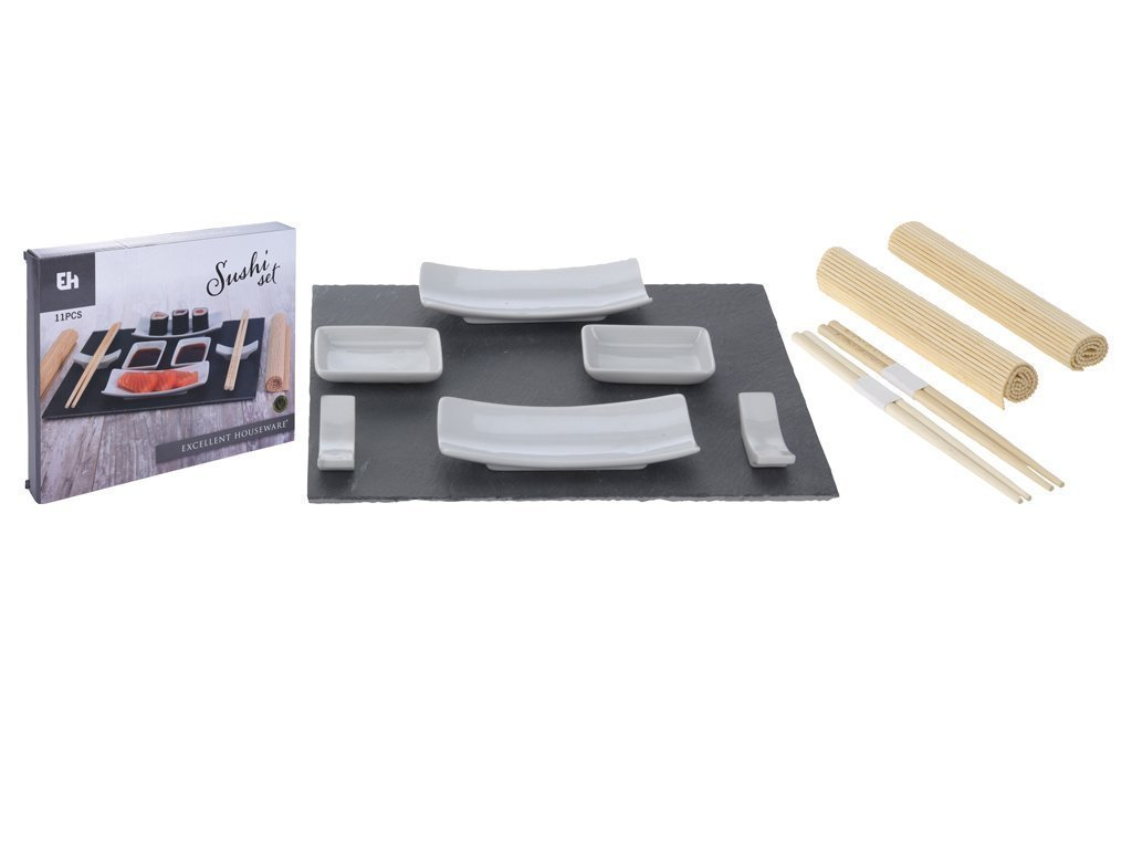 Σετ σερβίσματος και παρασκευής Sushi 11 τεμαχίων