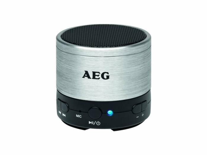 AEG Φορητό Ηχείο Bluetooth με Επαναφορτιζόμενη Μπαταρία 400 mAh