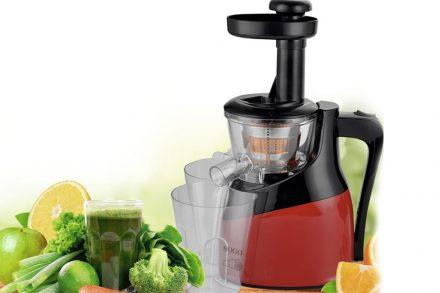 Sogo Ανοξειδωτος Αποχυμωτής Slow Juicer 150W με αργά περιστρεφόμενο σύστημα για διατήρηση βιταμινών και διατροφικών στοιχείων