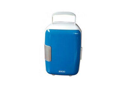 Mini Φορητό Ψυγείο 4L Μπλέ με Επιλογή για Ζεστή ή Κρύο SOGO NEV-SS-464Β - SOGO