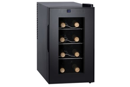 Sogo Ψυγείο Συντηρητής Κρασιών 23L 8 φιαλών με LED οθόνη θερμοκρασίας και εσωτερικό φωτισμό Wine Guardian