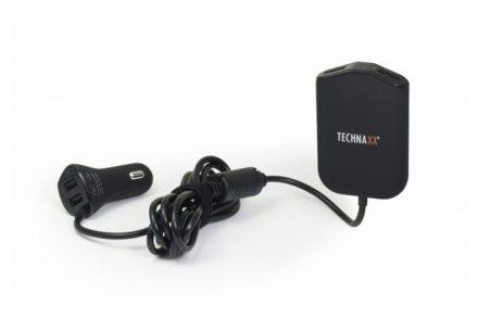 Technaxx Φορτιστής Αυτοκινήτου με 2 USB θύρες εξόδους φόρτισης κατάλληλο για οικογένεια