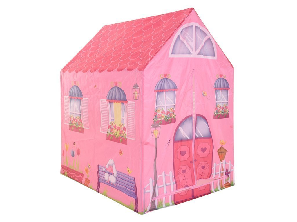Play tent Παιδική σκηνή 72x95x102cm με Θέμα Ροζ Σπίτι - Play tent