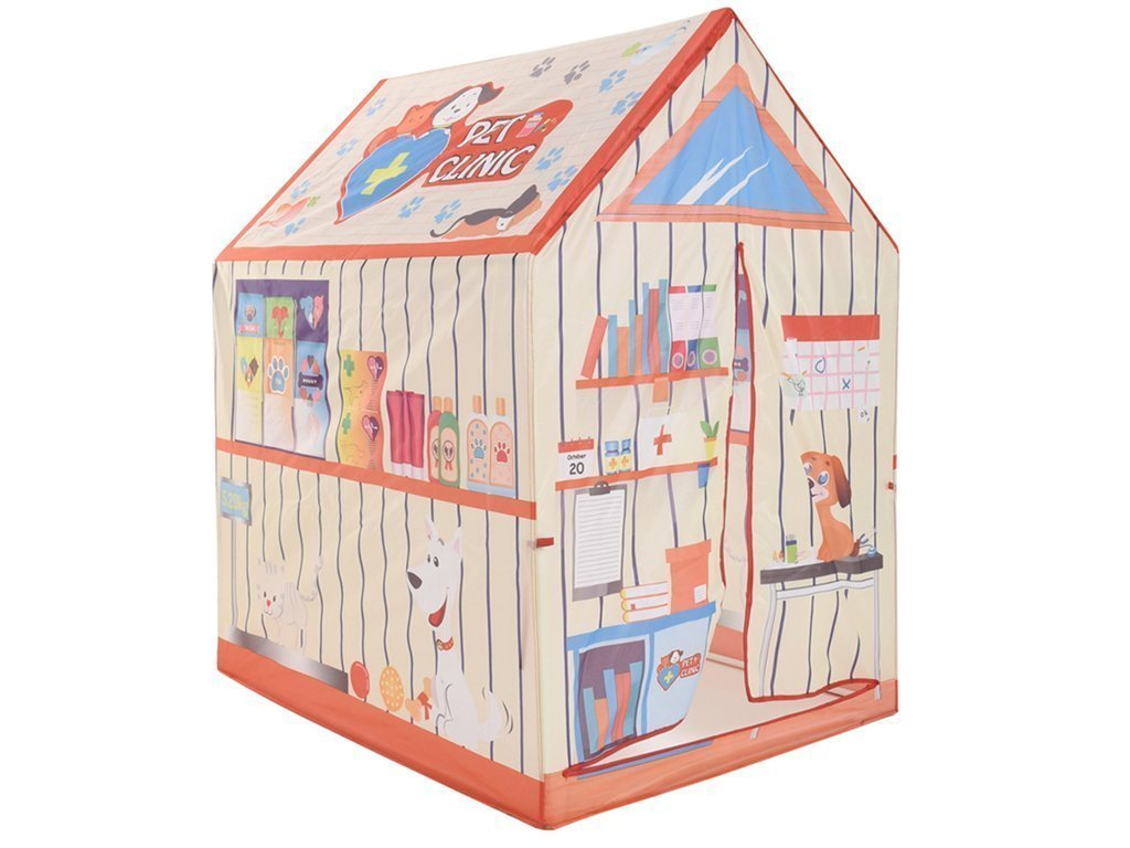 Play tent Παιδική σκηνή 72x95x102cm με Θέμα Pet Clinic - Play tent
