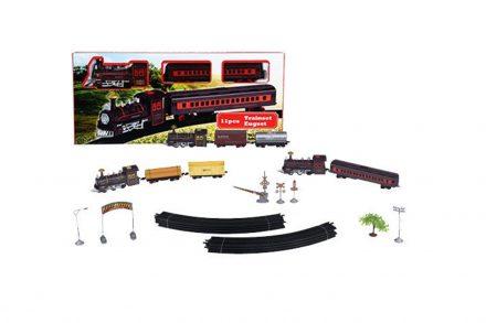 Eddy Toys Σετ Τρένο μπαταρίας 11 τεμ. με Ράγες