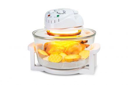 Cecotec Ρομποτάκι Πολυμάγειρας Φουρνάκι Κυκλοθερμικό 12L 1400W για Υγιεινή διατροφή σε Λευκό χρώμα