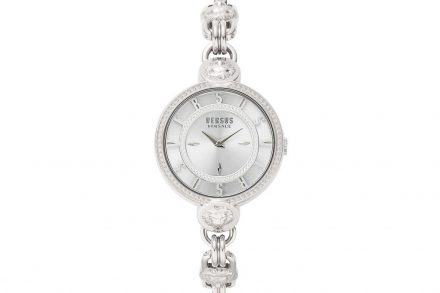Versus by Versace Γυναικείο Ρολόι Χειρός 36mm με μπρασελέ σε ασημί χρώμα