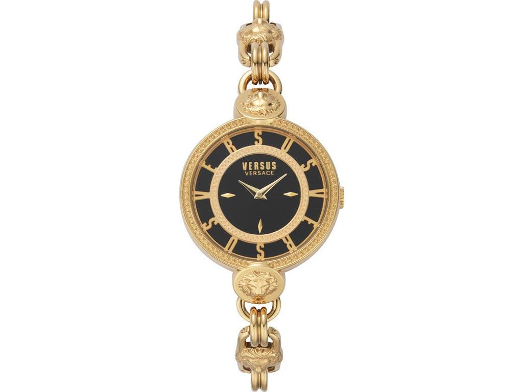 Versus by Versace Γυναικείο Ρολόι Χειρός 36mm με μπρασελέ σε χρυσό χρώμα
