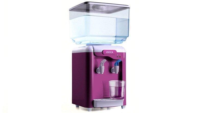 Jocca Ψύκτης Νερού με δοχείο χωρητικότητας 7L - Water Dispenser - Λειτουργεί και με φιάλη νερού σε Μωβ χρώμα