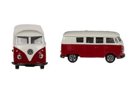 Μεταλλικό Αυτοκίνητο Βανάκι volkswagen van Μινιατούρα VW T1 Bus 1963 σε κλίμακα 1:34 Official Licensed Product