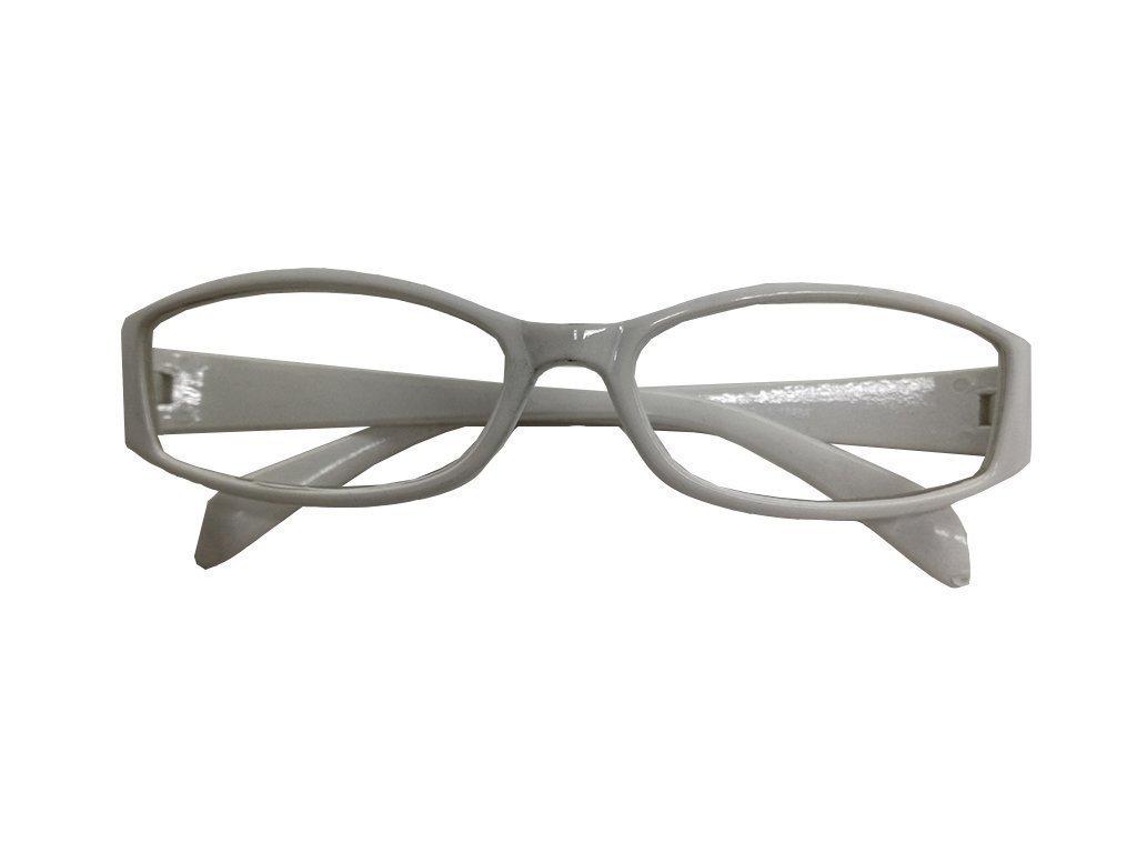 Lifetime Vision Unisex Γυαλιά Πρεσβυωπίας Διαβάσματος με Λεπτό Λευκό σκελετό και βαθμό +3.00