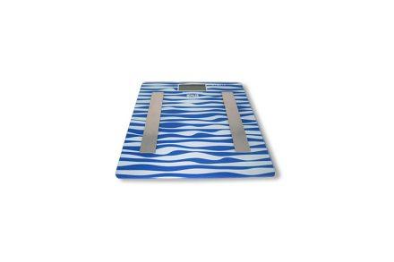 Muhler Ζυγαριά Λιπομετρητής Μπάνιου Body Fat Scale σε Μπλε χρώμα