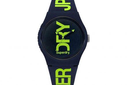 Superdry Ανδρικό Αναλογικό Ρολόι Χειρός σε μπλε χρώμα