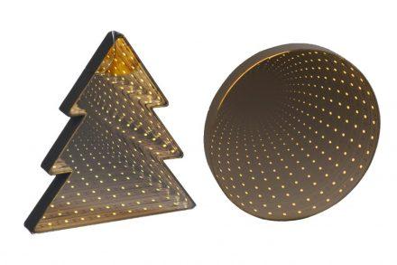 Grundig Χριστουγεννιάτικος Φωτιζόμενος Καθρέφτης με LED λαμπάκια