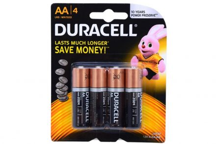 Σετ αλκαλικές μπαταρίες 4 τεμαχίων μακράς διάρκειας