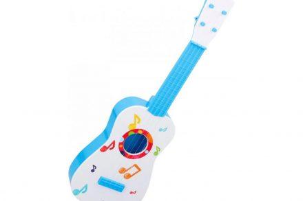 Παιδική κιθάρα σε λευκό χρώμα