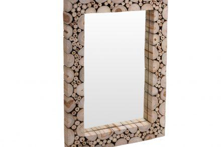 Ξύλινος Καθρέφτης σε Ορθογώνιο σχήμα